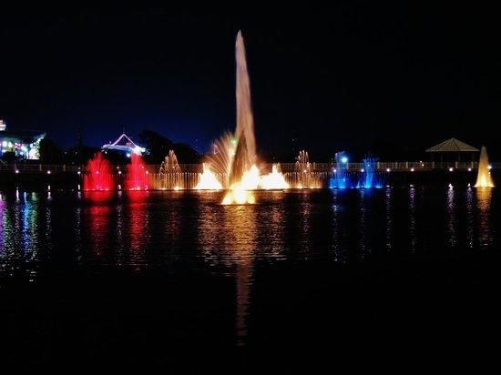 Laketown Wharf Resort : Laketown Wharf nightly light show