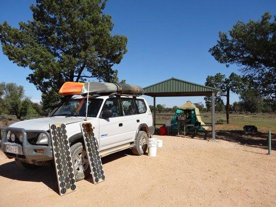Mungo National Park: Campsite