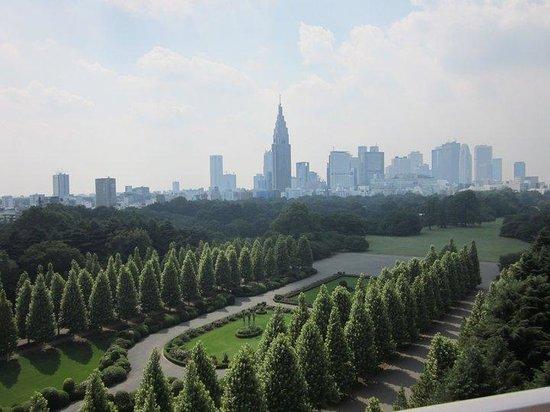 Shinjuku Gyoen National Garden: French garden