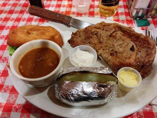 Susie's Branding Iron Restaurant: 16oz Ribeye...