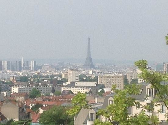 Tour Eiffel : vista dall'hotel