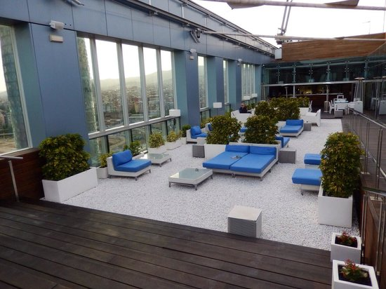 Novotel Barcelona City : Rooftop terrace