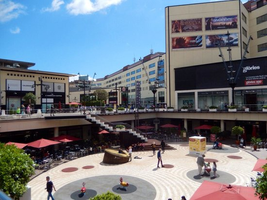 Novotel Barcelona City: Glories shopping centre across the street