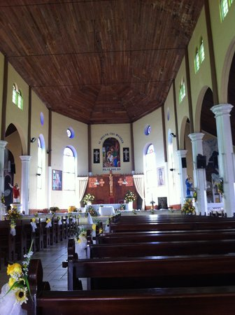 Bay Guesthouse: Gros Islet church