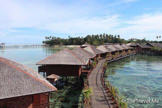 Sipadan Water Village Resort : 酒店外觀