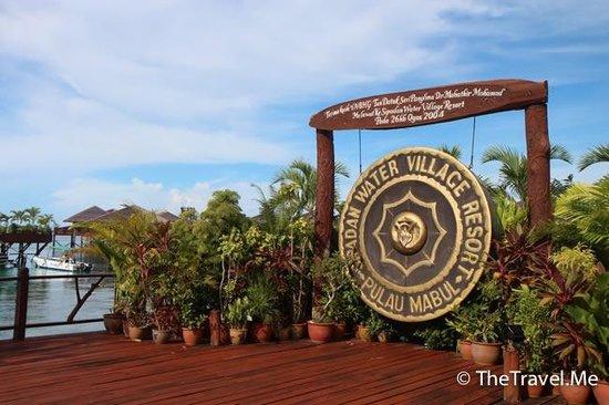 Sipadan Water Village Resort: 酒店外觀