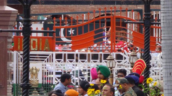 Wagah Border: Gate that separates two contry