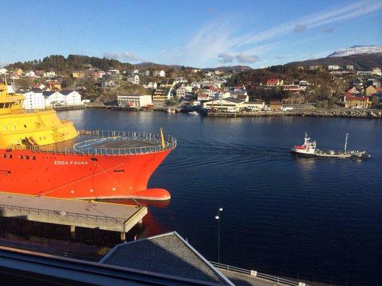 Scandic Kristiansund : Ausblick aus dem 8 OG