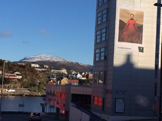 Scandic Kristiansund : Rechts das Hotel