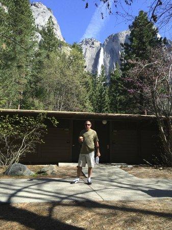 Yosemite Valley Lodge: cottonwood area