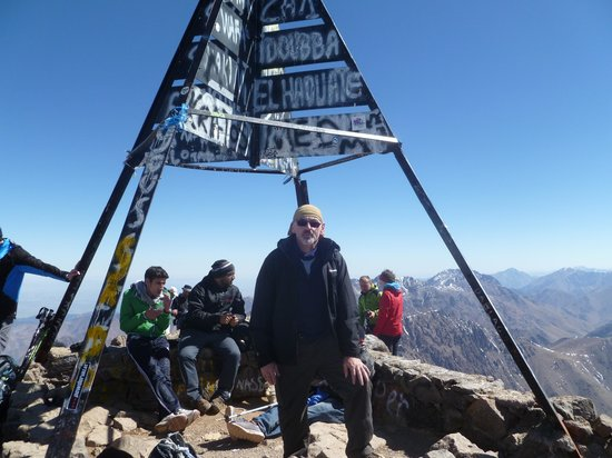 Mount Toubkal : The top