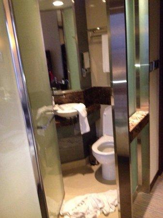 Rosedale Hotel Kowloon : Tiny bathroom.