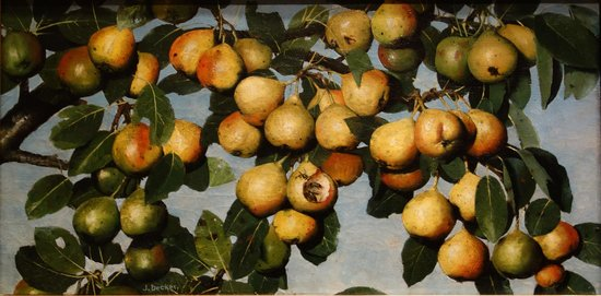 National Gallery of Art : J. Decker: Ripening Pears