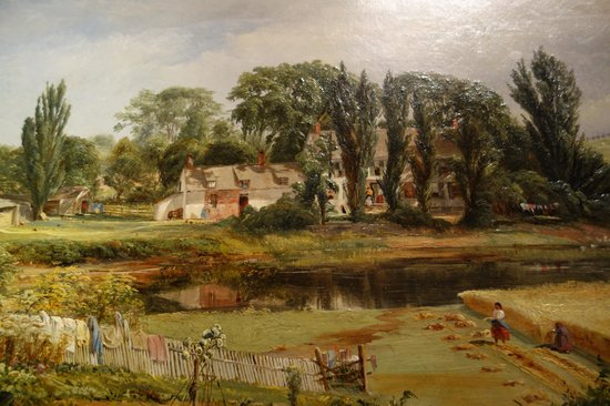 Smithsonian American Art Museum: Andr. W. Warren: Long Isl. Homestead, Detail