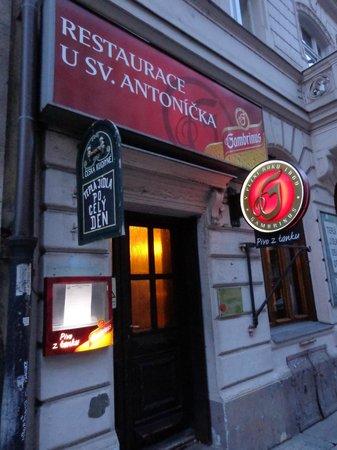 Restaurant U St. Antonicka