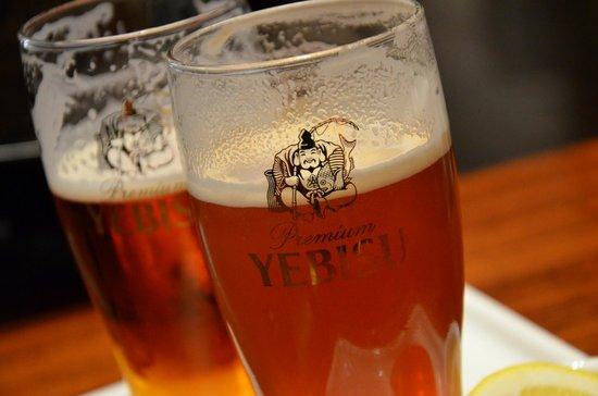 Museum of Yebisu Beer: Degustation