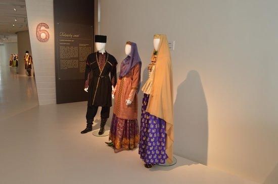 Heydar Aliyev Cultural Center: traditional costume exposition