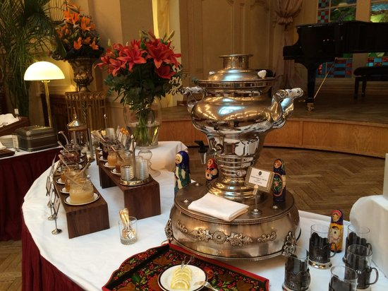 Belmond Grand Hotel Europe: Russian tea