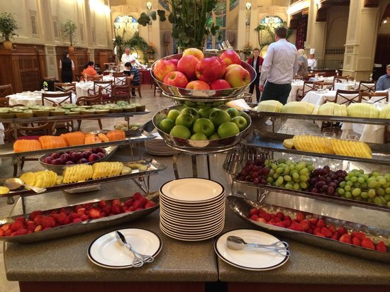 Belmond Grand Hotel Europe: Fruit
