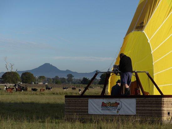 Hot Air Balloon Gold Coast: All done!