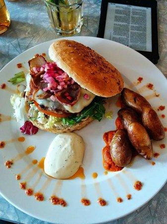 Ramp pub & spiseri: Burger