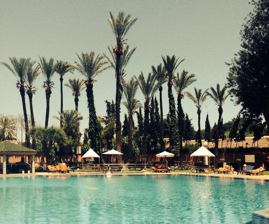 Royal Mirage Deluxe Marrakech: Piscine de l'hôtel