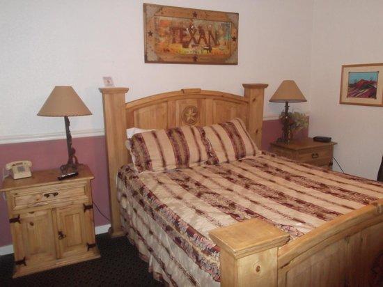 Hotel Texas: Bedroom