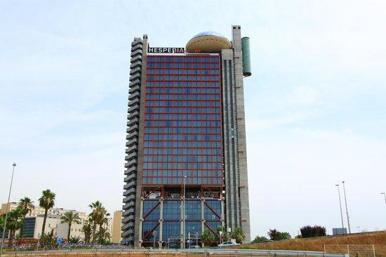 Hesperia Tower: L'hotel
