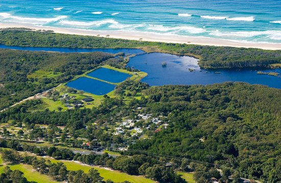 Byron Holiday Park: Aerial view