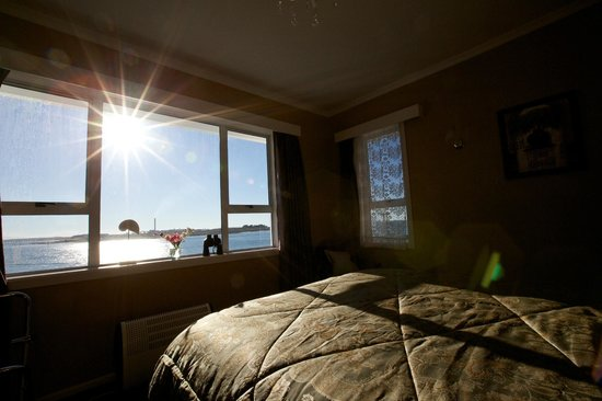Bluff Ocean Vista Accommodation: the view from the room