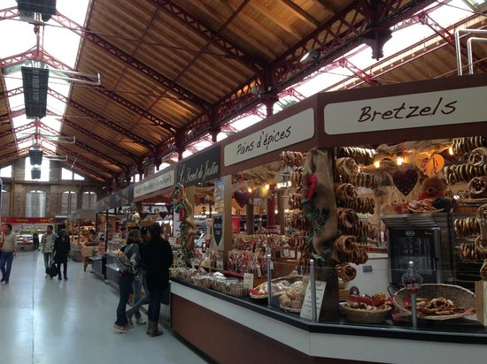 Marche Couvert: The historical covered market in Colmar is open every day except on Sundays