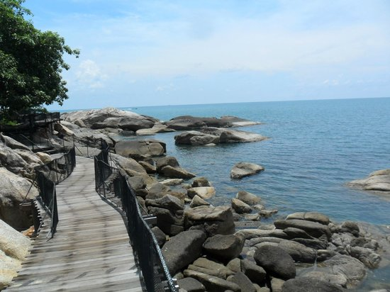 Panviman Resort - Koh Pha Ngan: wandelen in het resort