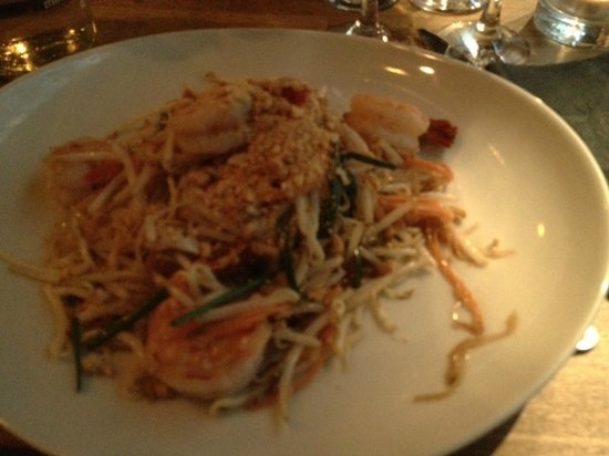 TUK TUK : Thai Street Food: phad aux crevettes