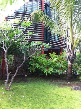 Manava Suite Resort Tahiti : jardins