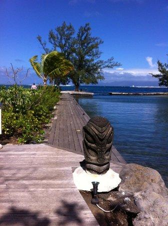 Manava Suite Resort Tahiti: terrasse