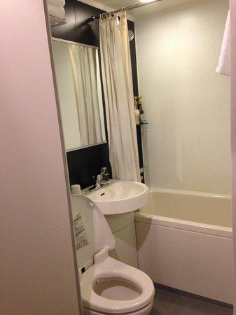 Vessel Inn Hakata Nakasu: Bathroom Twin Room