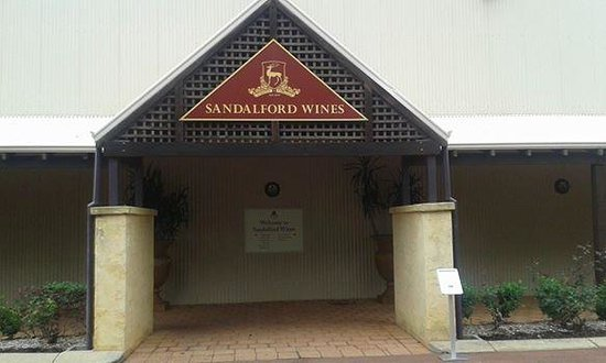 Sandalford Caversham Estate Restaurant: Entrance