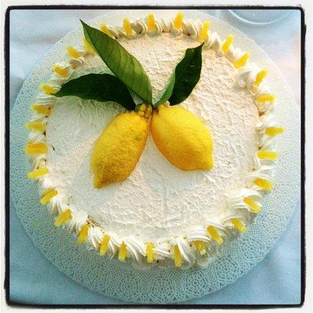 Terrazza Brunella: Pandispagna al Limone