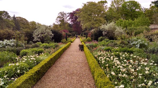 The Roman Camp Inn: garden