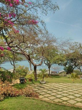 Stonewater Eco Resort : garden