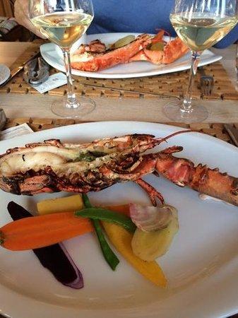 Hôtel du Parc Fétan : le fameux homard breton