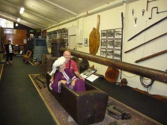 The Kauri Museum: Bath from Kauri timber