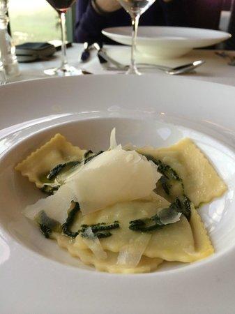 Restaurant Allegra im UTO KULM: lots of pasta water