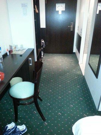 Ivbergs Premium: room entrance