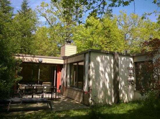 Center Parcs Les Bois-Francs : cottage vue de derrière