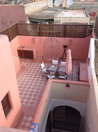 Riad Cherrata: Roof Terrace