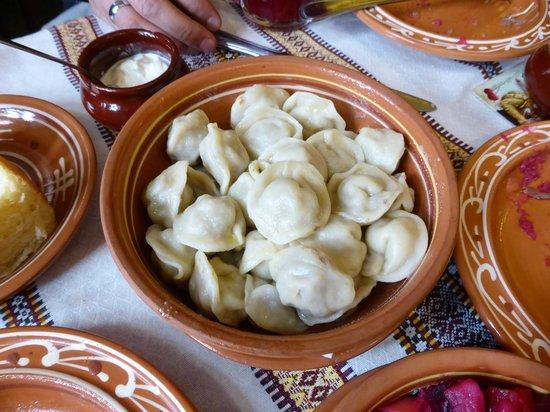 Korchma Taras Bulba: 水餃子。日本の水餃子とそんなに変わらぬ味。
