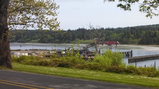Port Gamble, WA: the old mill site