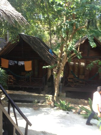 West Coast Beach Resort: The lovely huts