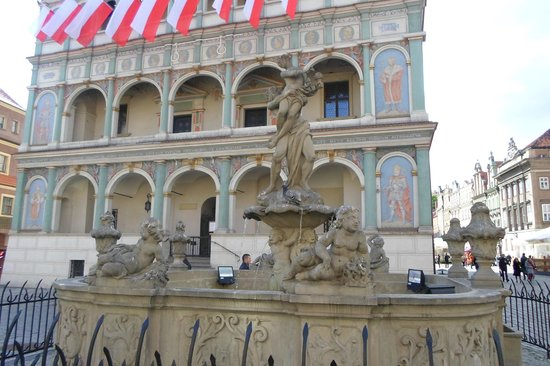 Alte Markt: Statue